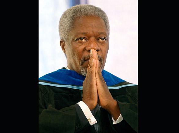 Annan peace winner