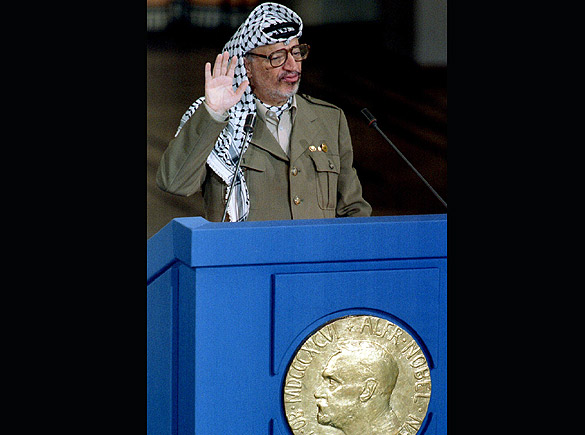 Arafat peace winner