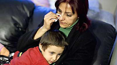 Iraqi mother